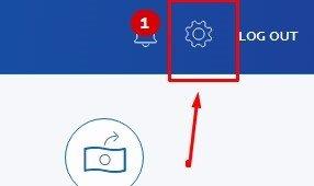 панель профиля