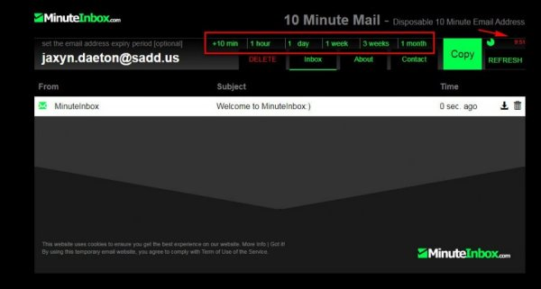 minuteinbox.com