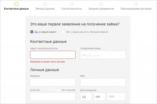 Метрокредит МФО