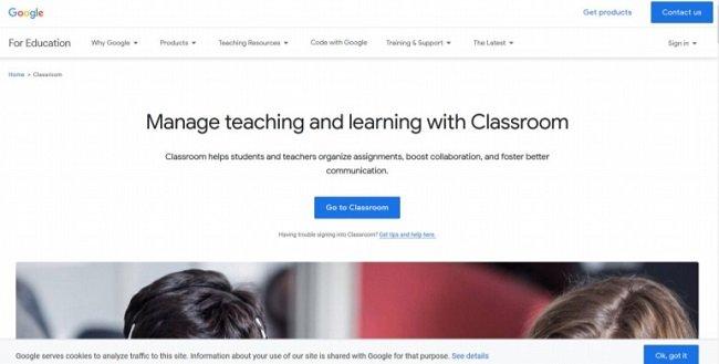 программа Google Classroom